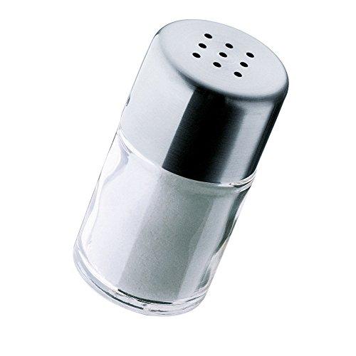 WMF Bel Gusto Salz-/ Pfefferstreuer 5,0 cm Streuer klein, Mini-Salzstreuer, Cromargan Edelstahl mattiert