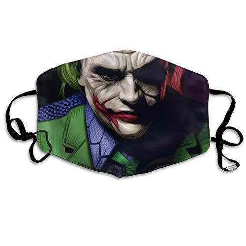 Mundschutz Joker Why So Serious Anti-Staub-Gesichtsabdeckungen, winddicht