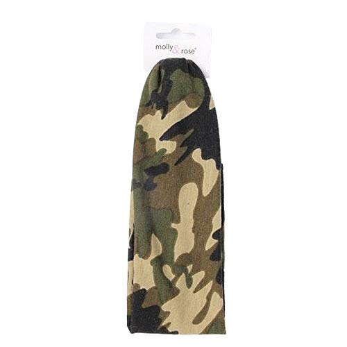 Bandeau élastique avec imprimé camouflage