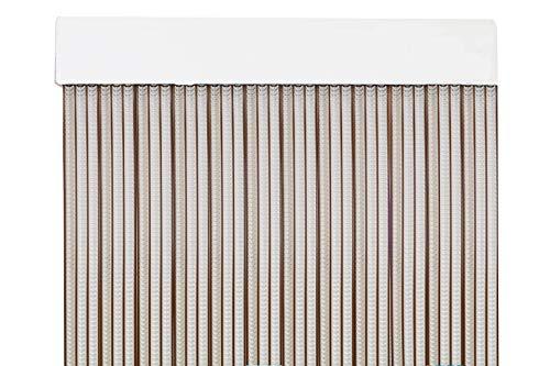 Cortina para Puerta Tiras PVC 210x120cm,Cortina para Puerta Exterior (120CM Color P3)