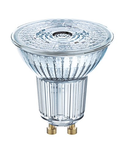 Osram LED STAR PAR16 / Spot LED, Culot GU10, 4,3W Equivalent 50W, 220-240V, Angle : 36°, Blanc Froid 4000K, Lot de 1 pièce