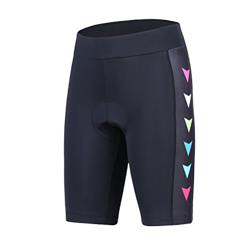 beroy Womens Bike Shorts with 3D Gel Padded