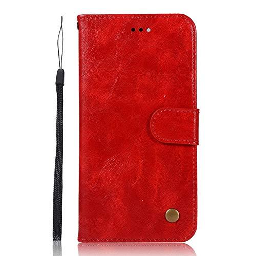 QiuKui Case para ASUS zenfone 2 láser 3 MAX go 4 Selfie 5z 5 Lite MAX Plus Pro, Cubierta del teléfono Funda de Cartera de Cuero Retro para ASUS Zenfone M1 M2 ZB631KL