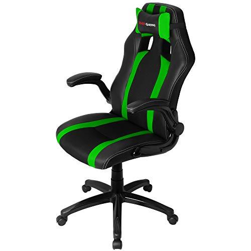 Mars Gaming MGC2BG Sillas Gaming Profesional, Verde