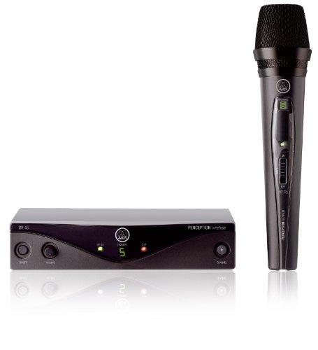 Microfone s/ fio - AKGPW Vset A 45 VOCAL