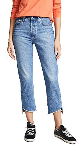 Levi's 501 Crop Jeans para Mujer - Azul - 32 US