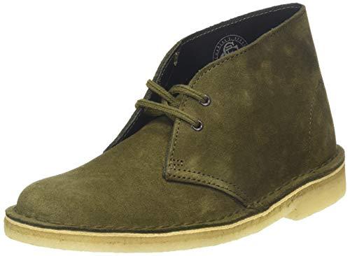 Clarks Originals Damen Desert Boots, Grün (Dark Olive SDE Dark Olive SDE), 41 EU