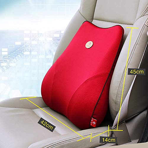 Kanqingqing lendenkussen kussen kalmeren je rug perfect voor auto of bureaustoel