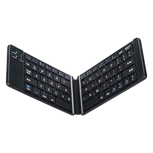 YASEking Keyboard FOR for ipad, Keyboard, Keyboard Full Size Compatible for Most Tablets, Keyboard for Traveling and Business, Black