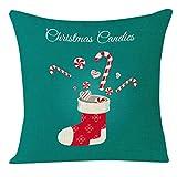 About Covermason Lovely Christmas Socks Sofa Bedroom Decoration Throw Pillow Cases Xmas Cushion Cover R Fundas para Almohada 24x24Inch(60cmx60cm)