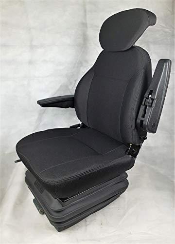 Gorilla - Asiento de tractor, asiento de tractor, asiento de excavadora, asiento del conductor, tejido Eco Plus