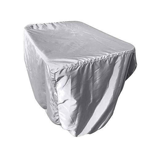 Muebles de Sistemas Silla de la prueba del polvo sólido Mesa rectangular cubierta de muebles contra los rayos UV for trabajo pesado de poliéster impermeable al aire libre a prueba de viento del jardín