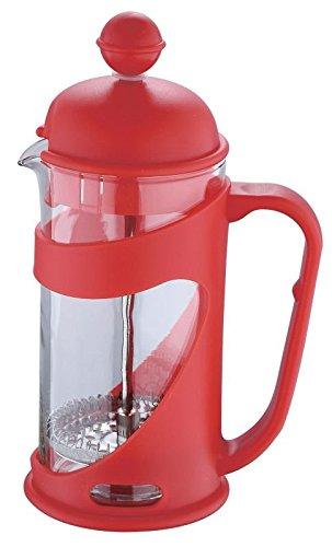 Cafetera (350ml de vidrio (Tetera de émbolo, cafetera de émbolo con cuchara, filtro, hervidor de café, té de...