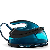 Philips PerfectCare Compact Steam Generator Iron with 420g steam Boost, 2400 W, Blue & Black - GC784...