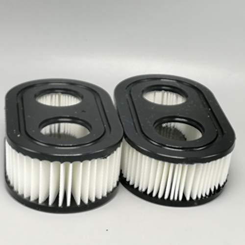 shiosheng 2pcs Oval Air Filter Cartridge for MTD Yard Machines Murray Craftsman Troy-Bilt TB110 TB115 TB200 TB230 for Briggs and Stratton 500 500E 798452 593260 for Poulan Pro PR500 PR550 Walk-Behind