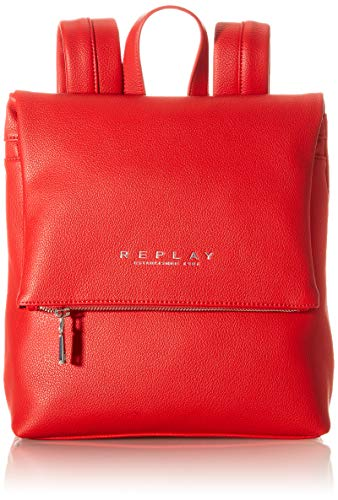 REPLAY FW3083, Bolso de Mano. para Mujer, 260 Blood Red, UNIC