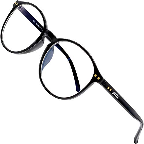 ATTCL Occhiali luce blu bloccanti per il blocco della cefalea UV Anti Eyestrain per computer/gioco/telefono Unisex 1133-nero
