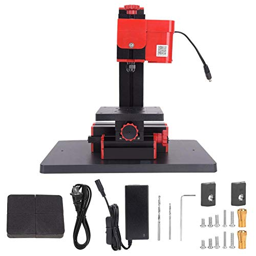 Save %5 Now! Mini Drilling And Milling Machine, DC 12V 5A 60W 20000RPM Drill Press Bench Attacnment ...
