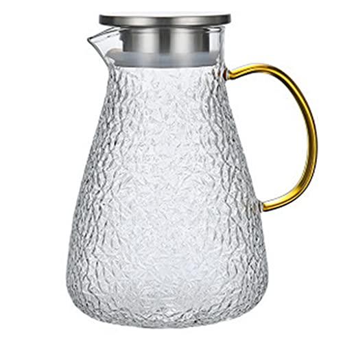 Botella de agua fría, Botella de agua de vidrio, Taza de agua fría de gran capacidad, Taza fría resistente a altas temperaturas, Hervidor, Tetera, Juego para el hogar, Botella de agua fría