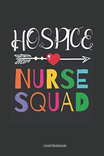 Awesome Hospice Nurse Squad Colleague: nursing memory notebook, assessment report journal for nursin