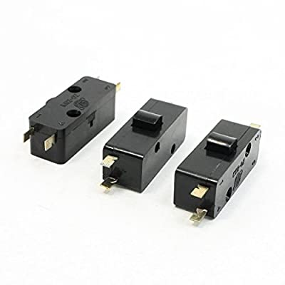 3 PCS KW2-0Z NC+NO SPDT 4 Pin Terminal Micro Swtich AC250V 6A
