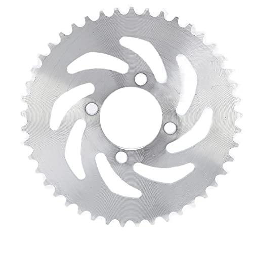 RiToEasysports Piñón Trasero de Cadena, 420 52mm 45T piñón Trasero de Acero para Bicicleta eléctrica Kart Motocicleta