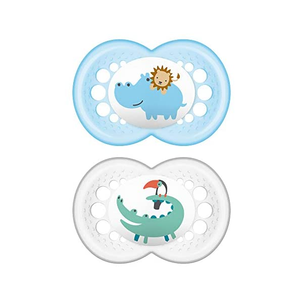 MAM Pacifier Baby Boy Pack Case