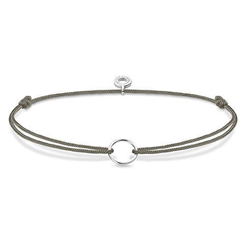 Thomas Sabo Damen Charm-Armband Little Secret Kreis 925 Sterling Silber LS066-173-5