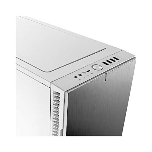 Fractal Design Define R6 USB-C Escritorio Blanco - Caja de ordenador (Escritorio, PC, Aluminio, Acero, Blanco, ATX,EATX… 6