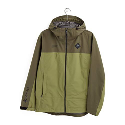 Burton Men's Gore-Tex Packrite Jacket, Snowboard Wear, Men's Jacket, 2020-21 Model, green