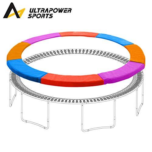ULTRAPOWER SPORTS 244cm 305cm 366cm 397cm 427cm Trampolin Randabdeckung Federabdeckung - Blau-Rot-Lila-Orange 244cm