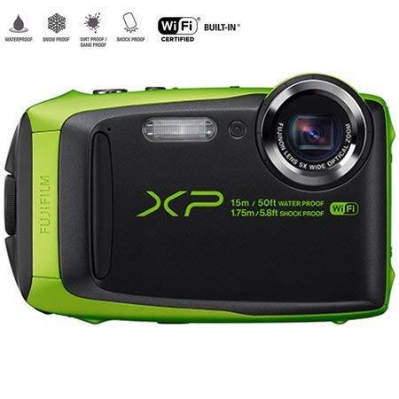 Fujifilm FinePix XP90 Lime Green (Renewed)