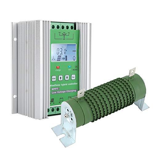 Wind Solar Hybrid Controller, Wind Generator Control Harness Hohe Kompatibilität für 600 W Windkraftanlagen für 500 W Windkraftanlagen(JW2480)