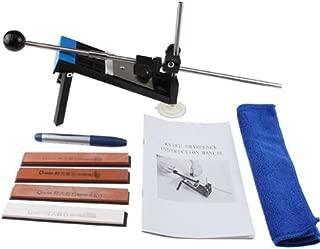 AGPTEKProfessional Kitchen Knife Sharpener System Fix-angle with 4 Stones