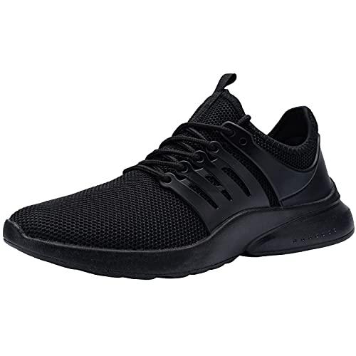 [DYKHMILY] 安全靴 作業靴 鋼鉄先芯(JIS H級相当) 踏抜き防止 軽量 通気性 耐滑 防水 メンズ セフティーシューズ ワークシューズ あんぜん靴(24.5,ブラック)