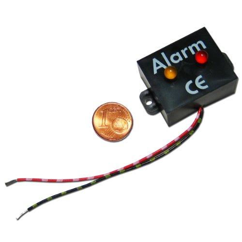 Monitor de alarma KEMO Alarma ficticio