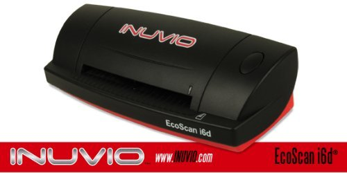 Buy Bargain INUVIO EcoScan i6d (DP 687) INUVIO EcoScan i6d Duplex ID Card Scanner - Scans in full-co...