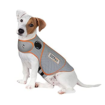 ThunderShirt for Dogs Small Platinum Sport - Dog Anxiety Vest