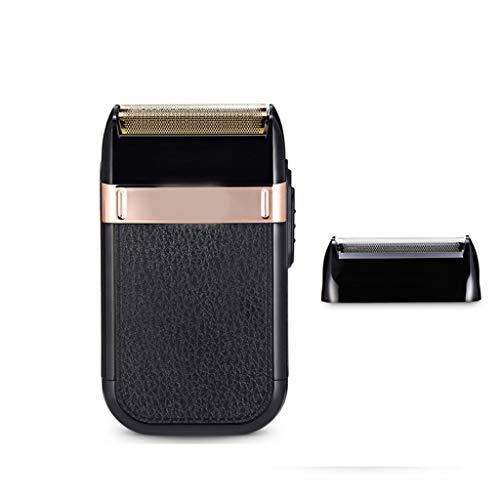 Wet/Dry Scheerapparaat Razor Voor Mannen Met Een Pop-Up Baardtrimmer Flexibele Kop Folie Te Snijden Systeem- Hypoallergeen, Zwart Single Head,Black