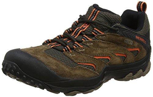 Merrell Men's Chameleon 7 Limit Waterproof Hiking Boot, Stone, 10 Medium US