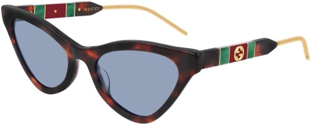 Gucci havana, occhiali da sole per donna GG0597S-002