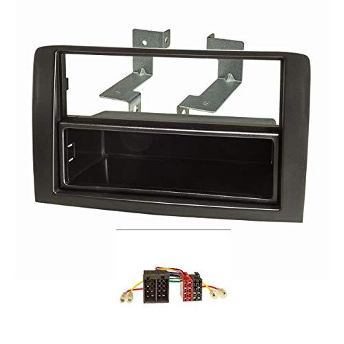 tomzz Audio 2414-028 - Marco de radio compatible con FIAT Idea Lancia...