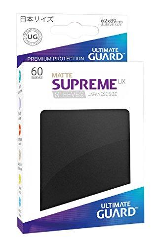 Ultimate Guard UGD010587 Supreme UX Sleeves, Japanische Größe, matt schwarz