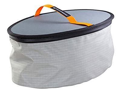 8070169 Wilderness Systems Oval Orbix Hatch Pod for Kayaks, Grey by Confluence Accessories