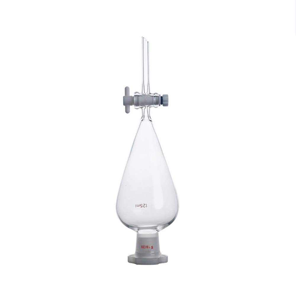 Gorgeous LabZhang Glass Separatory Funnel Borosilicate 1 125ml New item with