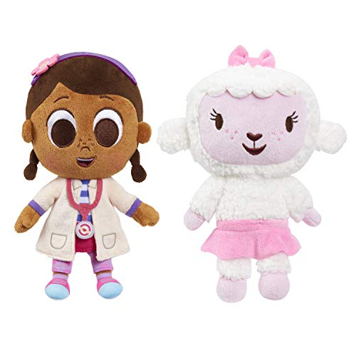 Disney Junior Music Lullabies 9-Inch Doc McStuffins & Lambie 2-Piece Plush Set, Amazon Exclusive