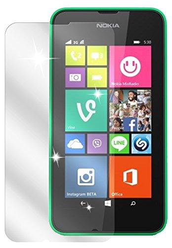 dipos I 6X Schutzfolie klar kompatibel mit Nokia Lumia 530 Folie Bildschirmschutzfolie