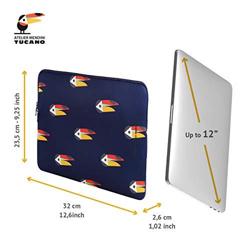 Tucano Shake Second Skin 12-13 Zoll, MacBook Air 2018, MacBook Pro 2016, blau, Tucano