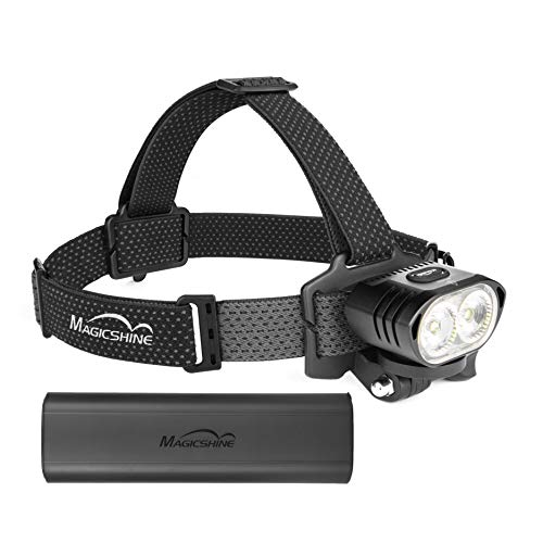 Magicshine MOH 55 Aquila Pro Outdoor Headlamp, 4000 Lumens Cold White CREE Head Lamp, USB-C Rechargeable LED Headlight IPX6 Waterproof 4 Modes Headlamps for Adults Camping Hiking & Mountain Biking