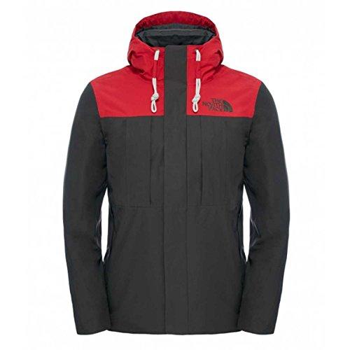 North Face M Himalayan Jacket Herren Jacke XL Grün/Rot